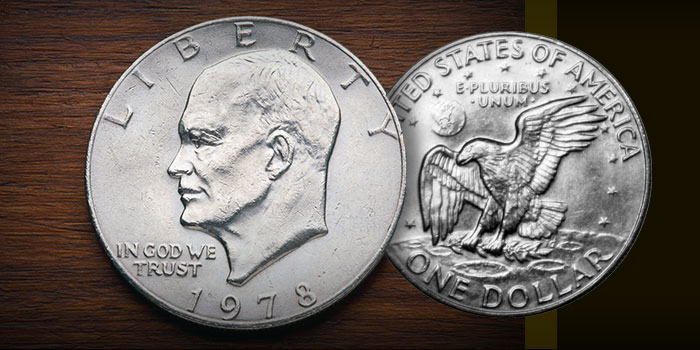 United States 1978 Eisenhower Dollar