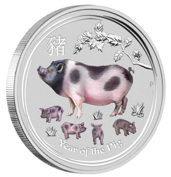 2019 Year of the Pig - Perth Mint