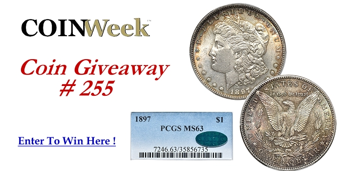 Free Weekly Coin Giveaway from CoinWeek