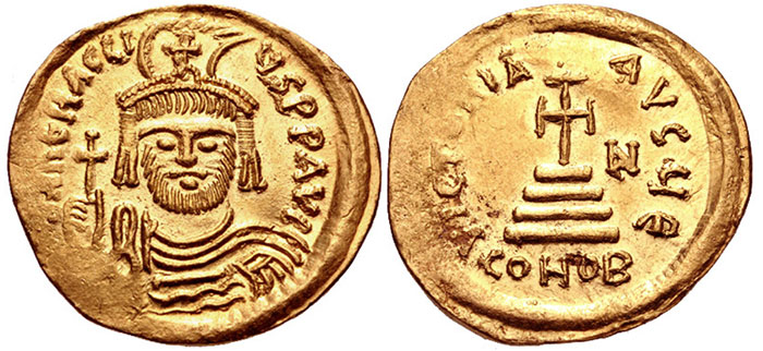 AV Solidus. Constantinople mint, 5th officina.