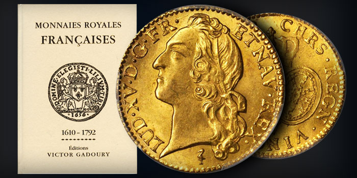 40th Anniversary Book of Royal French Coins Available From Editions Gadoury