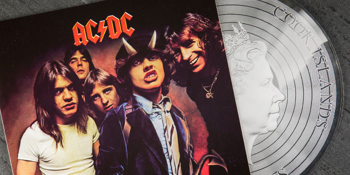 ACDC LP Silver Coin