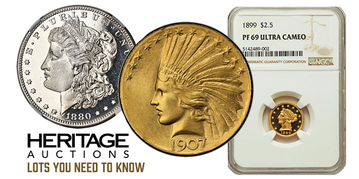 Lots You Need To Know: Heritage's Beverly Hills US Coin Signature Sale