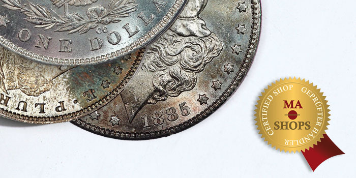 MA-Shops - Morgan Dollars