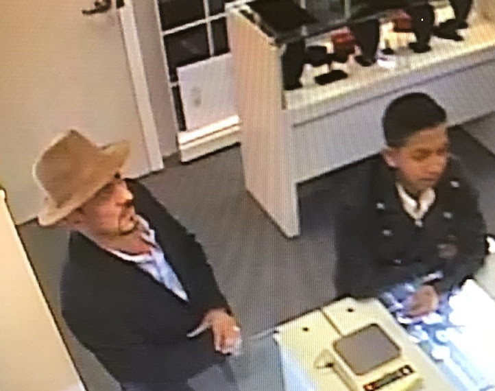 NCIC consumer alert - suspects in coin shop theft, crime and fraud