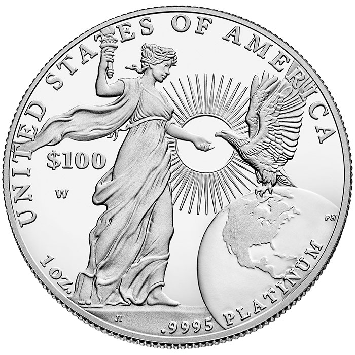 2015-W American Platinum Eagle Proof Coin