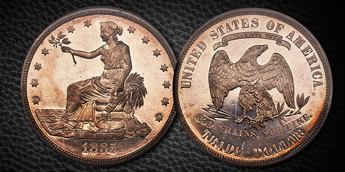 1885 Trade Dollar - Heritage Auctions