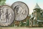 United States 1936 250th Anniversary of Albany Silver Half Dollar