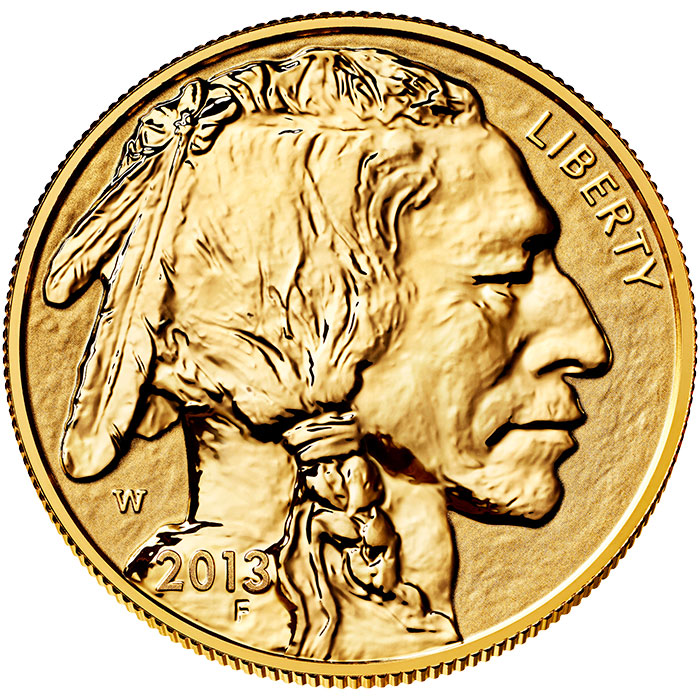2013-W American Buffalo Gold Reverse Proof Coin