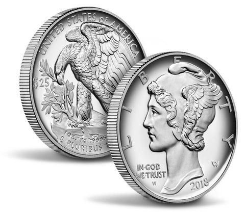 2018 $25 Palladium Proof Coin