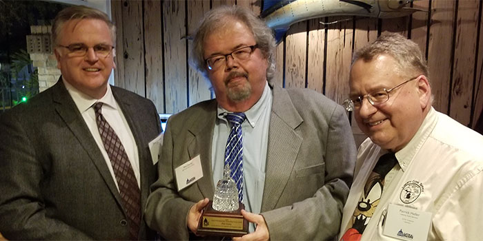 Left: David Crenshaw; Center: Phil Darky; Right: Pat Heller - ICTA