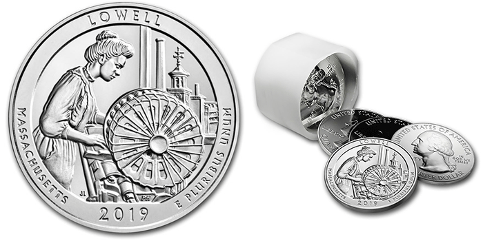 Lowell 5 Ounce Silver bullion coin