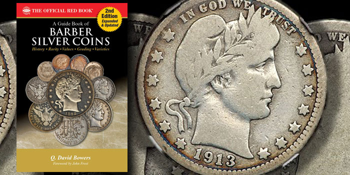 Whitman Announces Expanded 2nd Edition Guide Book of Barber Silver Coins