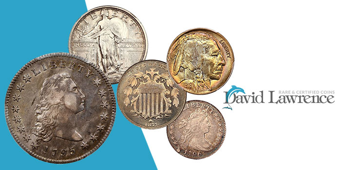 David Lawrence Rare Coins Auction 1050 - DLRC