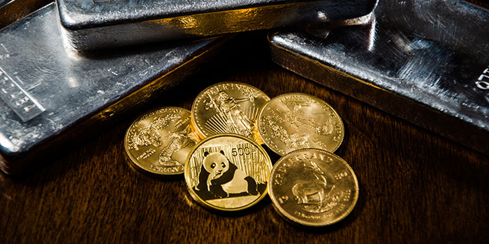 Gold Bullion Coins and Silver Ingots