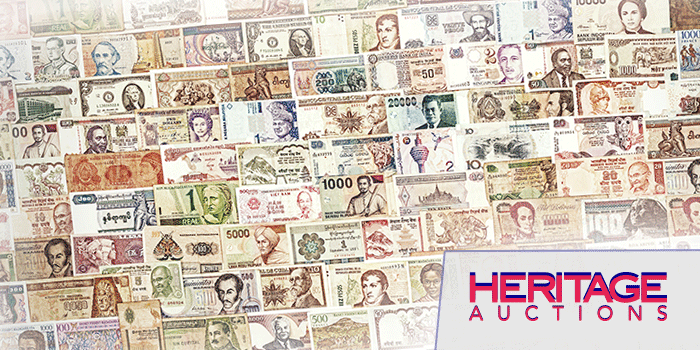 Heritage Auctions - Currency Auction