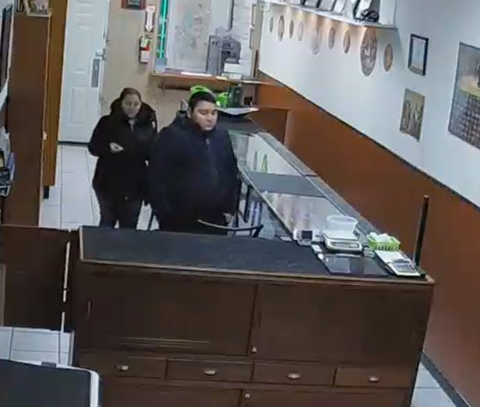 Coin theft suspects in Provo, Utah. Image courtesy NCIC and Doug Davis