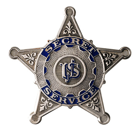 Secret Service Badge 1890s to mid 1910s