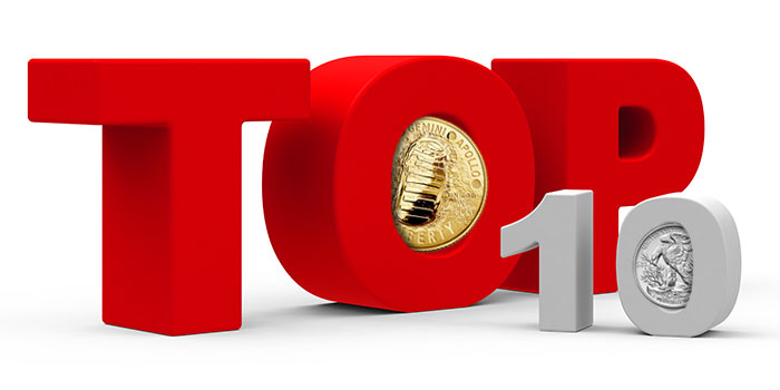 Top 10 Coins of the Decade from the U.S. Mint