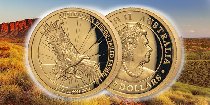 2019 Wedgetail Eagle High Relief Gold Coin