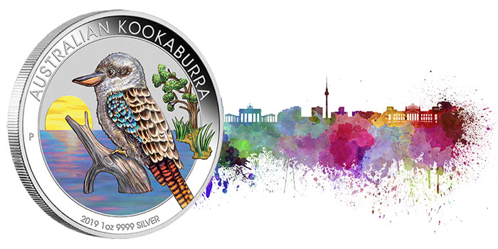 Australian Kookaburra World Money Fair