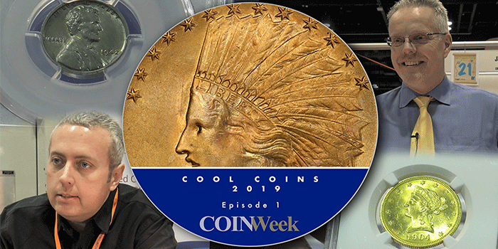 Cool Coins! 2019 Episode 1: Rare Lincoln Cents, Million Dollar 1933 Gold…