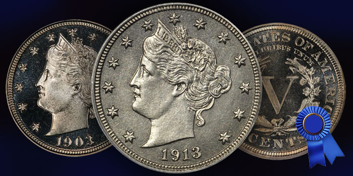 Liberty Head Nickel S.L.R. Set - SLR Set