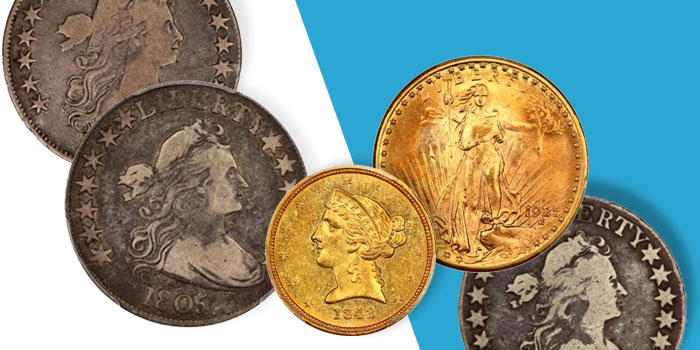 David Lawrence Rare Coins Auction 1058