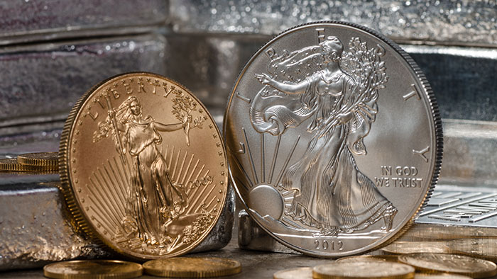 Gold and Silver Bullion Coins - American Eagles