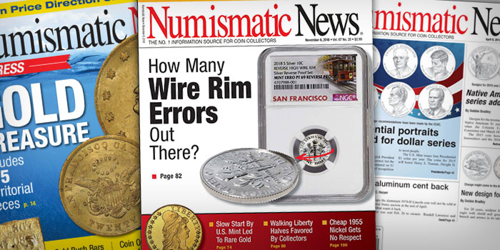 F+W, Publisher of Numismatic News, Declares Bankruptcy