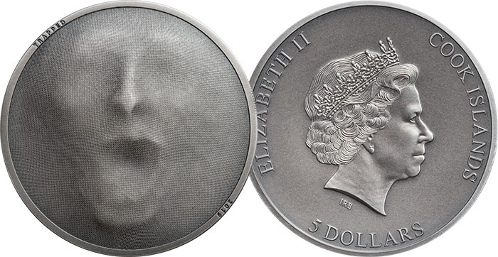 "2019 Cook Islands $5 ""Trapped"""