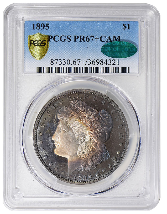 1895 Morgan Dollar Proof