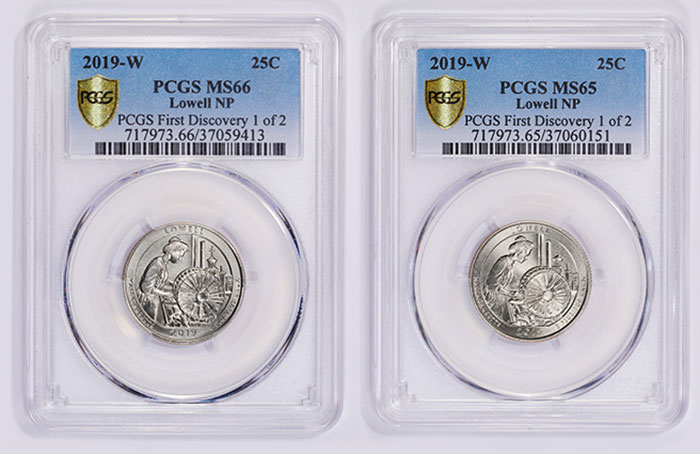 2019-W Lowell quarters PCGS Discovery Pieces