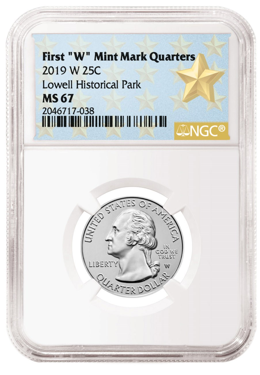 NGC now offering special new labels for 2019-W America the Beautiful quarters
