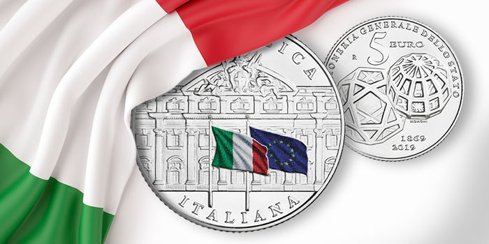 Italy 2019 150th Anniversary Silver coin