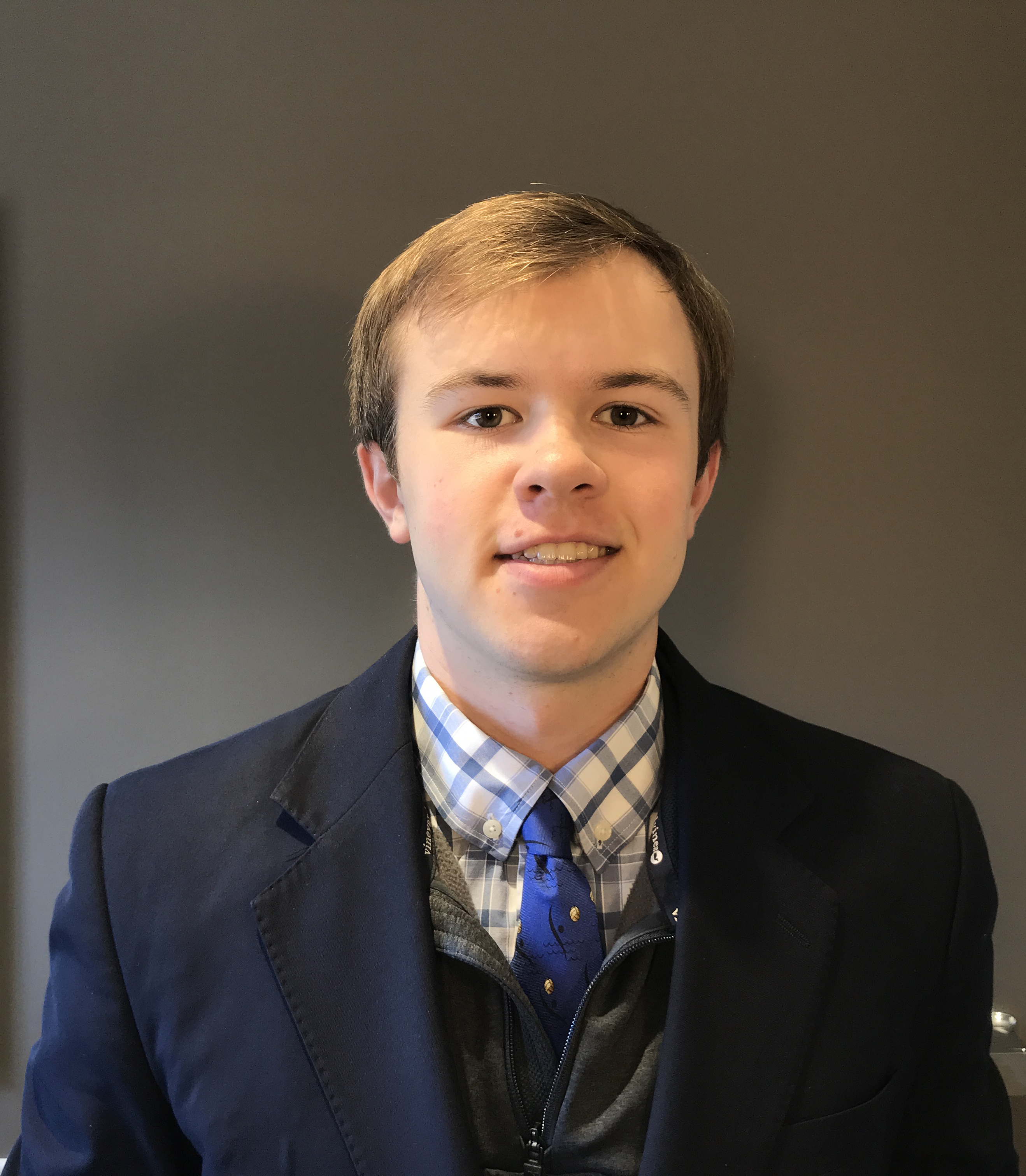Christian Hartch, 2019 ANA Summer Seminar PNG YN scholarship winner. Image courtesy Professional Numismatists Guild