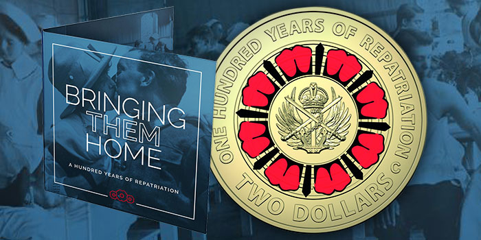 Bring Them Home Repatriation Two Dollars Coin Royal Australian Mint