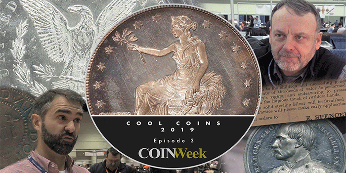 Cool Coins! 2019 Episode 3: 1885 Trade Dollar, Pine Tree Shilling, and More!