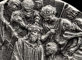 Crown of Thorns: Second 2019 Scottsdale Mint Biblical Series Silver Coin Now Available