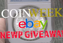 CoinWeek eBay Weekly Coin Giveaway Unboxing Video