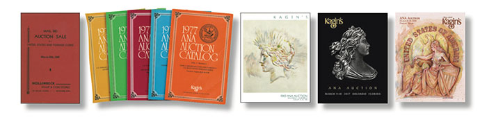 Kagin's Auction Catalogs