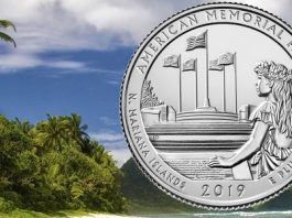 United States Mint Releases Quarter Honoring Site Dedicated to Those Who Perished in WWII Marianas Campaign