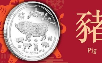 Perth Mint Coin Profiles - Australia 2019 Lunar Series II Year of the Pig 10 Kilo Silver Bullion Coin