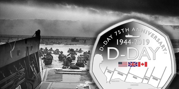 D-Day 75th Anniversary Commemorated on New 50p Coin