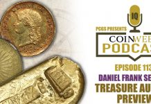 CoinWeek Podcast #113: Daniel Frank Sedwick Treasure Aution Preview