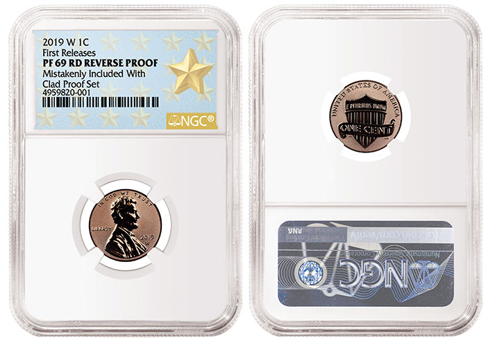 2019 W Reverse Proof Cent NGC