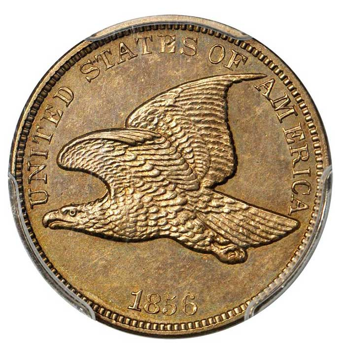 Proof 1856 Flying Eagle Cent