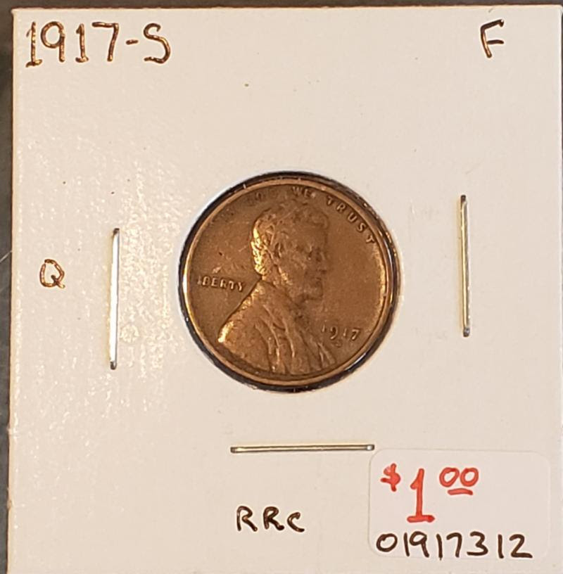 Example of coins stolen from Rum River Coin. Image courtesy Doug Davis and Numismatic Crime Information Center (NCIC)