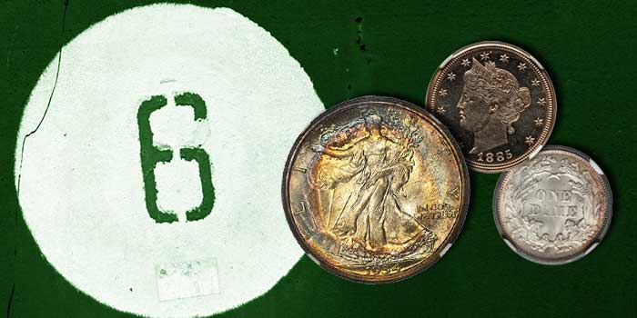 Central States Six Figure Coins - Coin Auction