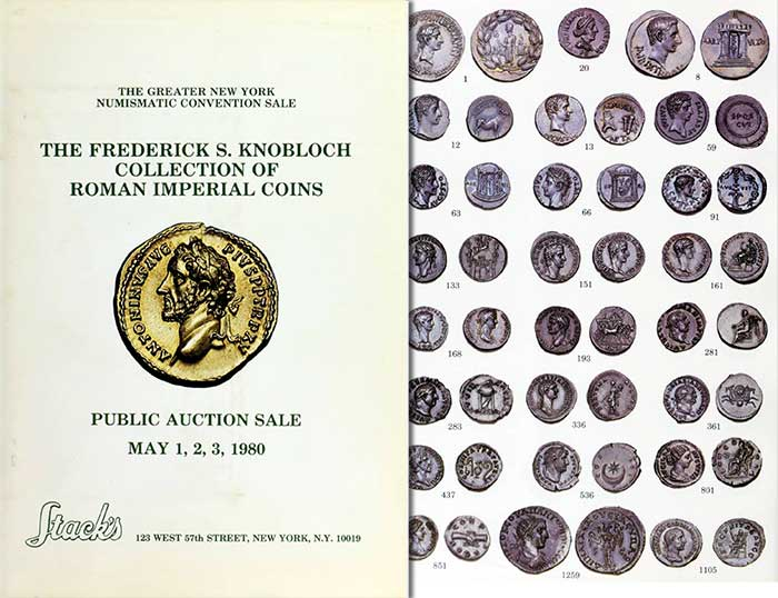 Frederick S. Knobloch Collection of Roman Imperial Coins - Stack's